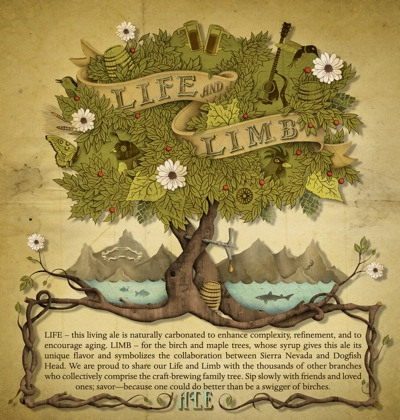 Life & Limb label artwork