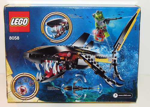LEGO Atlantis 8058 - Guardian of the Deep - Front of Box
