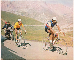 Tour de France 1967 (Chris Protopapas) Tags: mercier peugeot galibier pingeon poulidor
