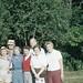 Herme, Pop, Helen & Sue Flynn, Bob & Barb, Poconos, PA, Sept 1960