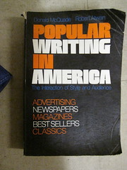Popular Writing in America (bjornmeansbear) Tags: inspiration book design graphicdesign graphic baltimore covers armstrong letraset bookthing type:face=neilbold