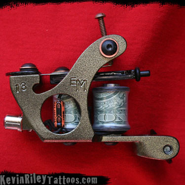 13 of 2009 - Hand Made Custom Tattoo Machines by Kevin Riley - More at