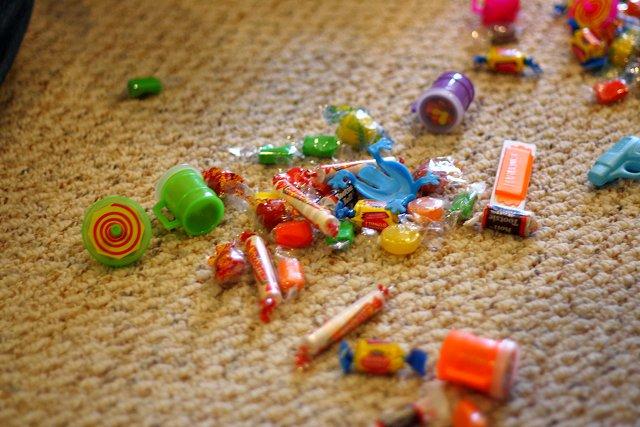 candy everywhere!