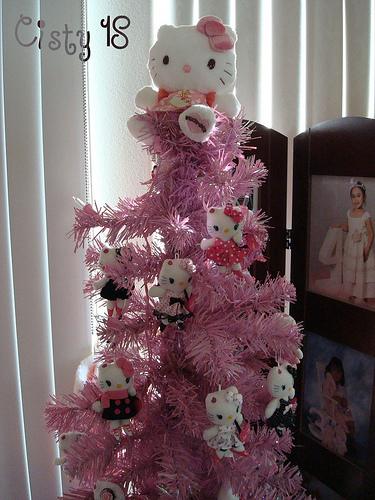 arbol de navidad hello kitty
