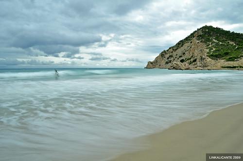 Surf en un día gris...