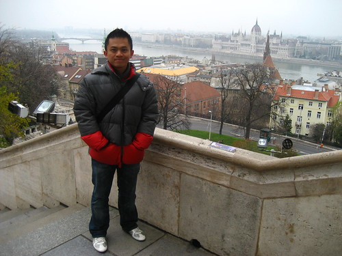 View from Fisherman Bastion at Castle Hill