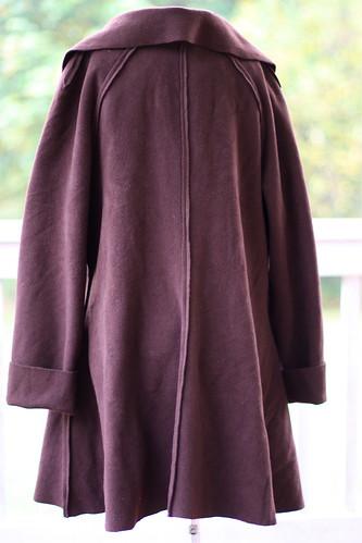 Sewing Pattern Review: Salma Boiled Wool Coat – Ottobre Design ...