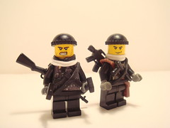 TF141: Captain MacTavish and Roach (Lordbrickman) Tags: 2 modern lego captain gary roach figs sanderson sgt warfare mactavish brickarms