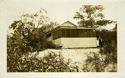 Bid-A-Wee Cabin at Indiana Dunes, 1915 - Chesterton, Indiana
