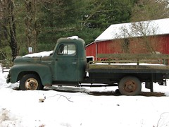 OLD FLATBED (richie 59) Tags: trees snow green rural truck outside woods rust country rusty international rusted drives trucks newyorkstate oldtruck 2009 internationaltrucks ih nystate flatbed rustytruck 2000s hudsonvalley 2door internationalharvester oldtrucks ulstercounty greentruck rustyoldtruck twodoor americantruck internationaltruck twolane 2lane midhudsonvalley rustyoldtrucks rustytrucks flatbedtruck r130 ulstercountyny ustrucks ustruck oldrustytruck oldinternationaltruck americantrucks 1950struck dec2009 1950strucks oldrustytrucks dec232009 oldinternationaltrucks
