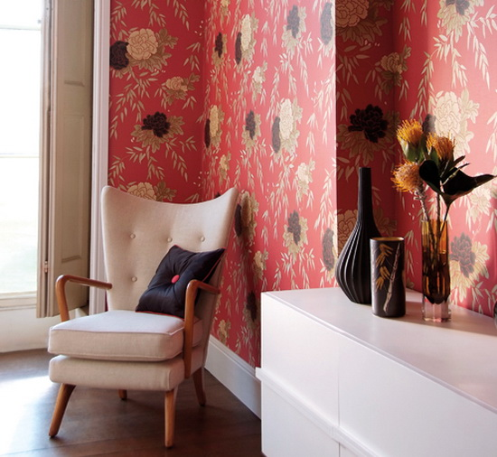 Tamika Wallpaper – Wall Design Ideas by Harlequin Harris