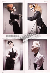 Avant garde  fashion (BABAK photography) Tags: color fashion magazine hair print photography shoot photographer russia bio sheets salon babak tear avantgarde stylist babakca hairshoot photographerbabak