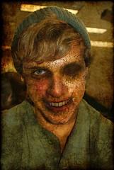 (PhotosbyBrian) Tags: eye dead blood skin zombie teeth cracks