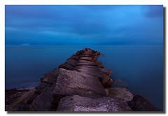 Into the Blue (Dustin Hardwick) Tags: longexposure night dusk tokina1224 onblue canon50d