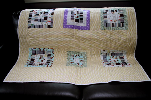 QfQ: Dotty Mermaid - quilt for sale!