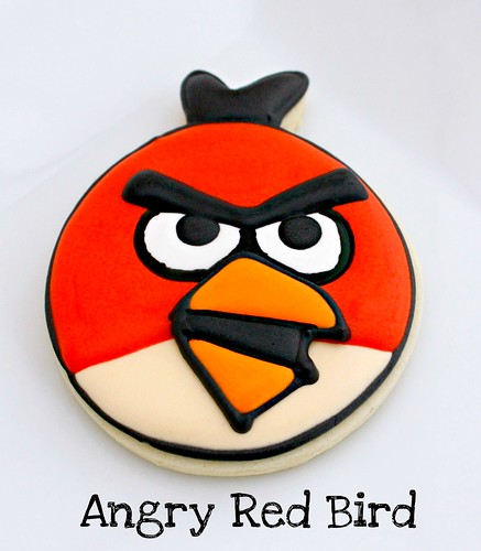 Easy Angry Birds Cookies