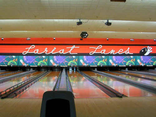 lariat lanes is awesome (137/365)