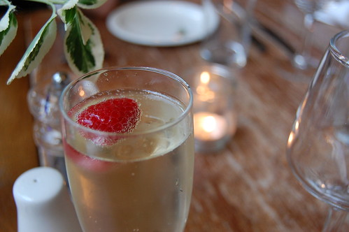 Elderflower Bellini...mm