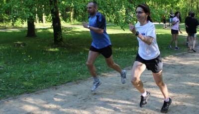 Závodní běh -  letní přípravné období