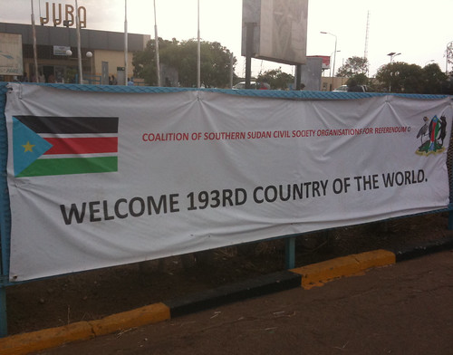South Sudan: welcome to 193rd country of the world