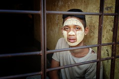 child in jail in myanmar (stopete60) Tags: children myanmar jail prison samsung child travel love buddha buddhist burma