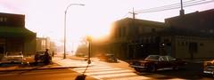 Vintage Sunset / Mafia III (Den7on) Tags: new bordeaux mafia iii 3 hangar 13 2k czech night lights road architecture outdoor orleans vintage sunset