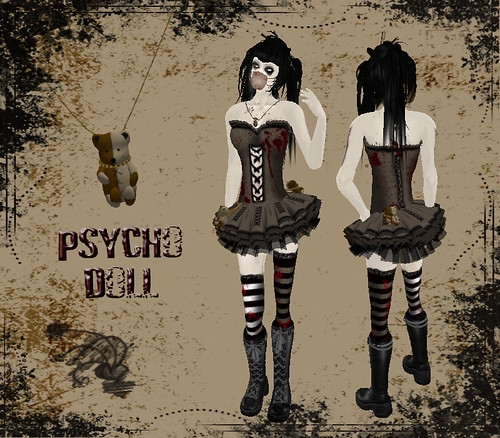 .: WEiRD.DESiGNS :. Psycho Doll Dress - Can haz Store entry !