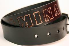 002 (amina.munster) Tags: leather belt painted accessories buckle personalized beltbuckle leatherbelt kyodtcom customleatherbelt