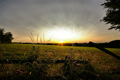10mm (Chris Beesley) Tags: sunset sky sun clouds countryside wide wideangle sigma1020mm 10mm pentaxk100dsuper