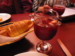 Bread and Sangria!