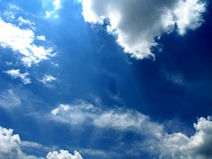 skylight (preacha_tink) Tags: blue light sky white beauty clouds outside outdoors open smoke bluesky opensky skyopen