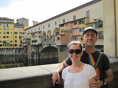 "By the Ponte Vecchio (""old bridge"")"