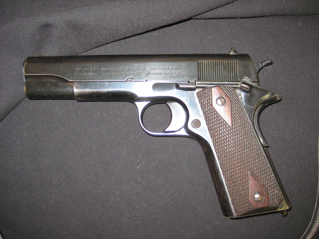 ARMSLIST - For Sale: Vintage 1916 Colt 1911 4th year