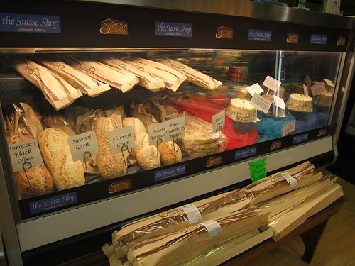 Bread at Huffman's Market