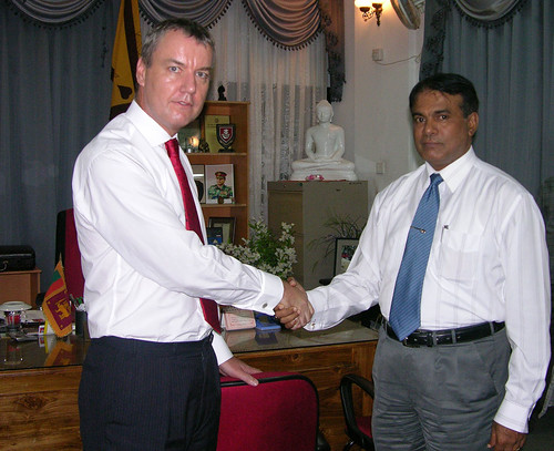 Meet with Trincomalee Goverment Agent