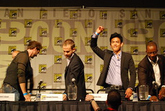 sdcc 2009 / flash forward panel