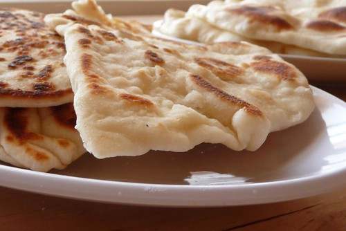 Pan-fried Naan