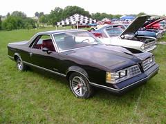 "1981 ""Pontiac Safari Sport"" (splattergraphics) Tags: truck pickup safari chevy 1981 pontiac elcamino carshow customcar hanoverpa chickenshow stdavidslutheranchurch"