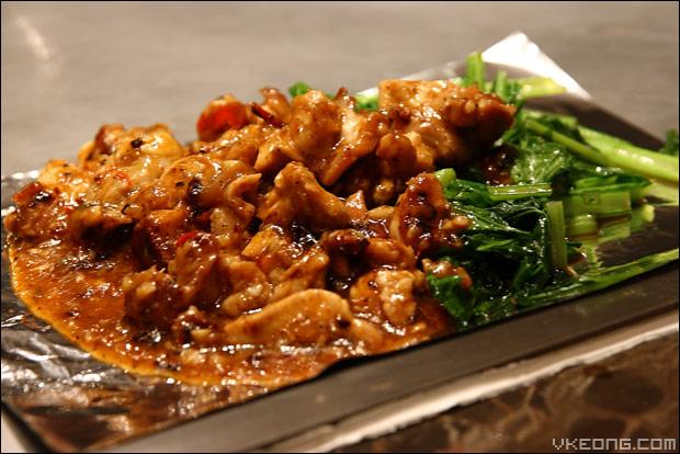 chicken-teppanyaki