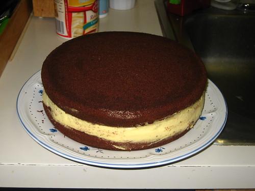 Chocolate Cream Cheese Cake