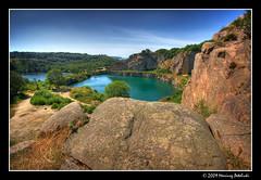 Opalso lake (Mariusz Petelicki) Tags: hdr bornholm 3xp mariuszpetelicki opalsolake