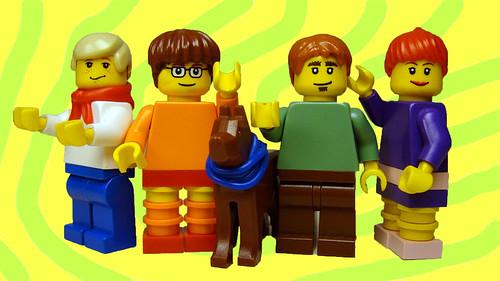 Lego Scooby Gang custom minifigs