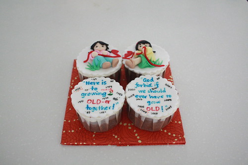 Friendship cupcakes