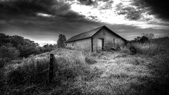 Morning Riser (Insight Imaging: John A Ryan Photography) Tags: bw sun toronto ontario barn infrared rise hdr inglewood caledon nikond300 wwwinsightimagingca johnaryanphotography