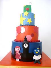 super spies (Tuff Cookie cakes by Sylvia) Tags: birthdaycake juicebox fondant buttercream backyardigans ladyinpink superspies backyardiganscake
