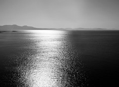 Silver road (irene gr) Tags: light sea summer bw seascape monochrome silver landscape olympus explore zuiko e30 43 zd fourthirds 1454mm f2835 zuikodigital 1454mmii irenegr