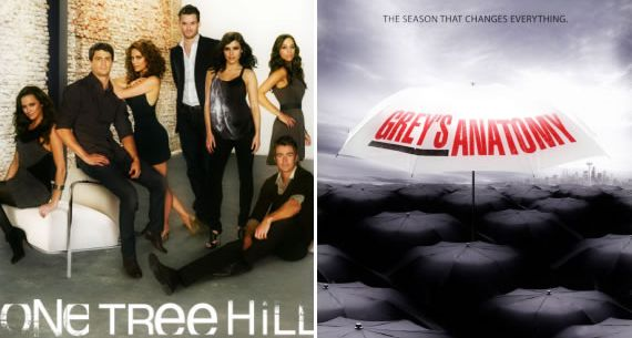 Poster OTH e Grey's