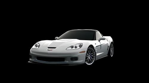 GT PSP CHEVROLET Corvette ZR1 '09