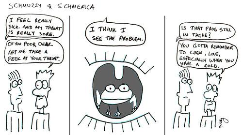 366 Cartoons - 219 - Schmuzzy and Schmerica