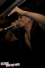 Goldblade (xsimx) Tags: york rock canon rebel vegan punk ska sigma dslr oi 2009 digitalslr f28 september11th goldblade fibbers johnrobb 1850mm eos400d 580exmk2 xsimx